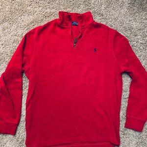 Polo Ralph Lauren Men's 1/4 Zip Sweater